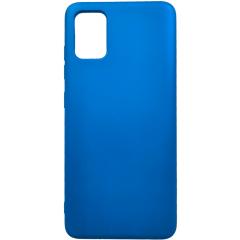 Чехол Silicone Case Lite Samsung Galaxy A51 (синий)