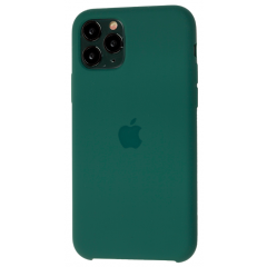 Чехол Silicone Case Iphone 11 Pro Max (зеленая сосна)