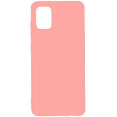 Чехол Soft Touch Samsung Galaxy A51 (розовый)