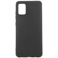 Чехол Soft Touch Samsung Galaxy A51 (черный)