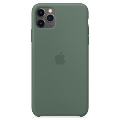 Чехол Silicone Case Iphone 11 Pro Max (хаки)