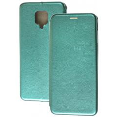 Книга Premium Xiaomi Redmi Note 9s/Note 9 Pro (зеленый)