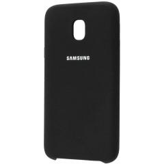 Силиконовый чехол Silky Samsung J3/J330 (2017) (черный)