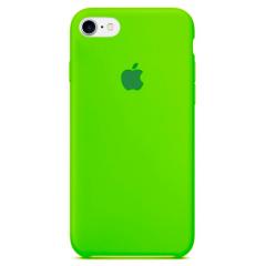 Чехол Silicone Case iPhone 7/8 (салатовый)
