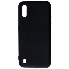 Чехол SMTT Samsung Galaxy A01 (чёрный)