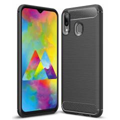 Чехол Carbon Samsung Galaxy M20 (черный)