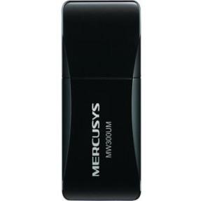 Wi-fi адаптер Mercusys MW300UM 300Mbps