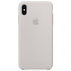 Чехол Silicone Case iPhone Xs Max (серый)