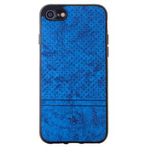 Чехол Velvet iPhone 7/8 (синий)
