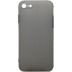 Чехол усиленный матовый iPhone 7/8 (серый)