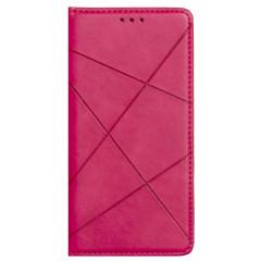 Книга Business Leather Xiaomi Redmi 9 (малиновый)