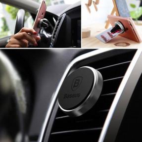 Автомобильный держатель магнитный Baseus Magnet Car Mount (Black) SUGENT-M001