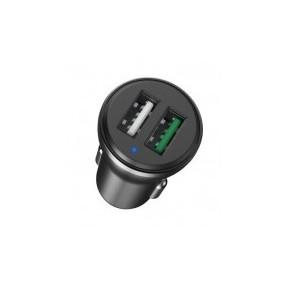 Автомобильное зарядное устройство Havit HV-H213 2.4A (Black)