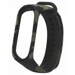 Ремешок для Xiaomi Band 3/4 (Camouflage Green)