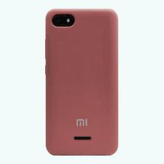 Чехол Silky Xiaomi Redmi 6a (бордовый)