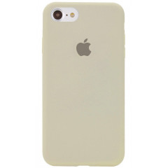Чехол Silicone Case iPhone 7/8/SE 2020 (антический белый)