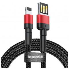 Кабель Baseus Cafule Cable for Lightning 2.4A 1m CALKLF-G91