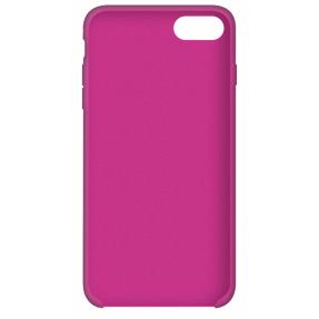 Чехол Silicone Case iPhone 7/8/ SE 2020 (ярко-розовый)