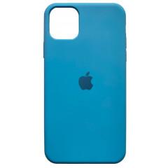 Чехол Silicone Case Iphone 11 Pro Max (голубой)