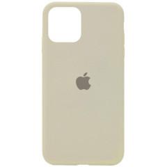 Чехол Silicone Case Iphone 11 Pro Max (антический белый)