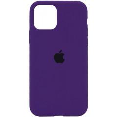 Чехол Silicone Case Iphone 11 Pro Max (фиолетовый)