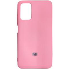 Чехол Silicone Case Poco M3/Redmi 9T (розовый)