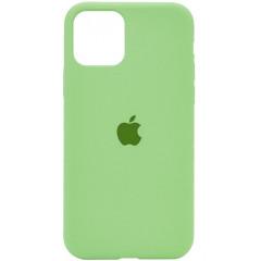 Чехол Silicone Case Iphone 11 Pro Max (мятный)