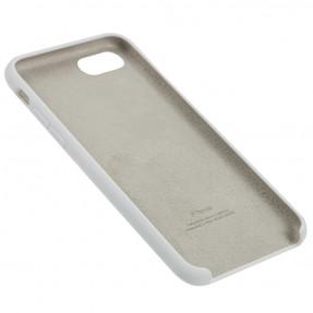 Чехол Silicone Case iPhone 7/8/SE 2020 (белый)