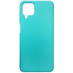 Чехол Silicone Case Samsung A12 (мятный)