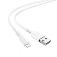 Кабель Hoco X62 Fortune Lightning 2.4A (White) 1м
