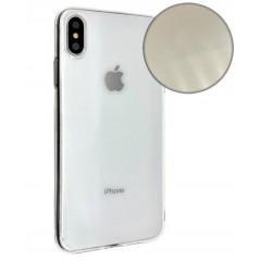 Чехол Molan Cano Glitter iPhone Xs Max (прозрачный блеск)