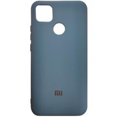 Чехол Silicone Case Xiaomi Redmi 9C (синий)