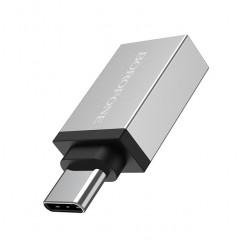 Адаптер Borofone BV3 Type-C на USB