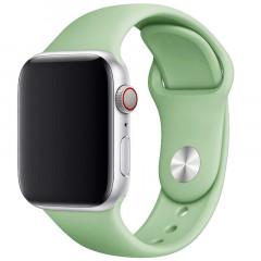 Ремешок силиконовый для Apple Watch 38/40mm (мятный)