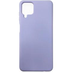 Чехол Silicone Case Samsung A12 (лавандовый))