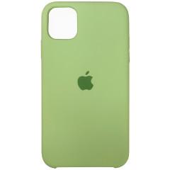 Чехол Silicone Case Iphone 11 Pro Max (фисташковый)