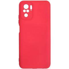 Чехол Silicone Case Xiaomi Redmi Note 10/ Note 10S (красный)