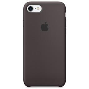 Чехол Silicone Case iPhone 7/8/SE 2020 (какао)