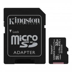 Карта памяти Kingston micro SDHC UHS-I 100R A1 32gb (10cl) + адаптер