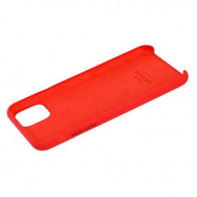 Чехол Silicone Case Iphone 11 Pro Max (красный)