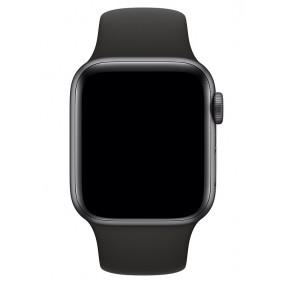 Ремешок силиконовый для Apple Watch 38/40mm (черный)