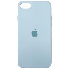 Чехол Silicone Case iPhone 7/8/SE 2020 (мятный)