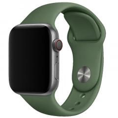 Ремешок силиконовый для Apple Watch 38/40mm (зеленый)