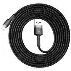 Кабель Baseus Cafule Cable for Lightning 2m CALKLF-CG1 (Gray)