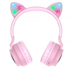 Накладные наушники Hoco W27 (Pink)