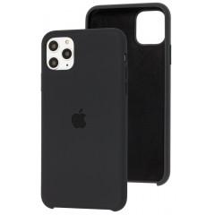 Чехол Silicone Case Iphone 11 Pro Max (черный)