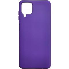 Чехол Silicone Case Samsung A12 (фиолетовый)
