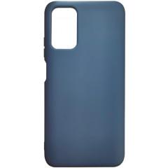 Чехол Silicone Case Poco M3/Redmi 9T (синий)