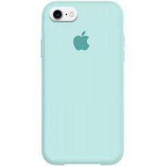 Чехол Silicone Case iPhone 7/8/SE 2020 (бирюзовый)
