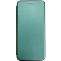 Книга Premium Samsung Galaxy A12 (темно-зеленый)
